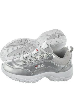 Sneakersy FILA Hyperwalker Low Wmn 1010833.92S WhiteLighter Gray, kolor biały