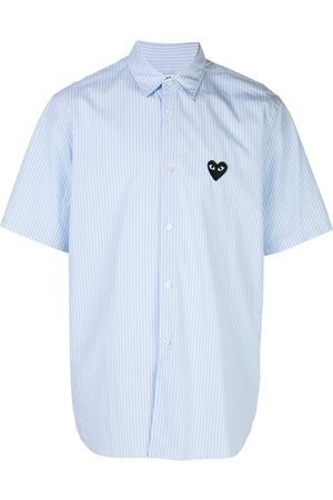 Comme des Garçons Mężczyzna Koszule - Blue