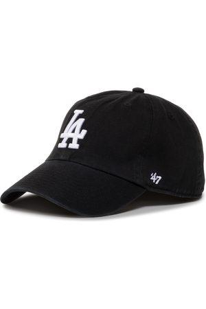 47 Brand Mężczyzna Czapki z daszkiem - Czapka z daszkiem - Mlb Los Angeles Dodgers '47 Clean Up B-RGW12GWS-BKJ Black