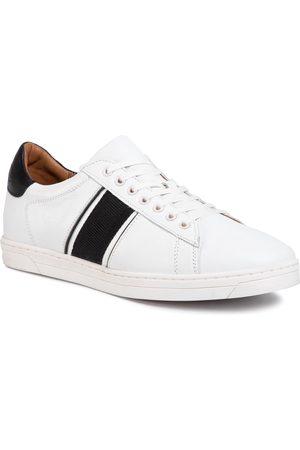 Gino Rossi Mężczyzna Buty casual - Sneakersy - MI07-A974-A803-05 White