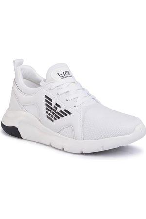 EA7 Buty casual - Sneakersy - X8X056 XCC56 00001 White