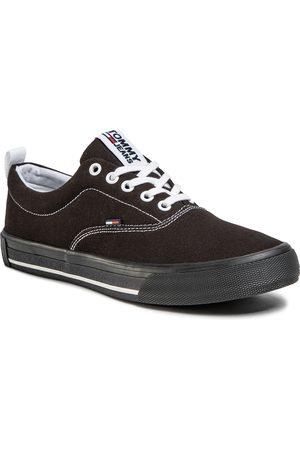 Tommy Hilfiger Tenisówki - Lowcut Essential Sneaker EN0EN00794 Black BDS