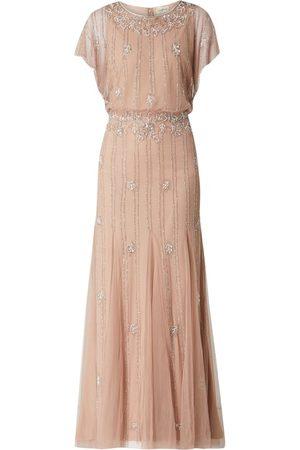 Lace & Beads Kobieta Sukienki koktajlowe i wieczorowe - Sukienka wieczorowa z ozdobnymi perełkami