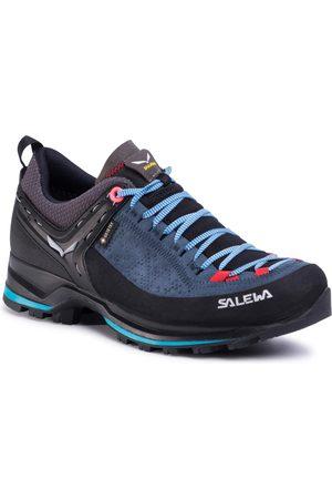 Salewa Kobieta Buty trekkingowe - Trekkingi - Ws Mtn Trainer 2 Gtx GORE-TEX 61358-8679 Dark Denim/Fluo Coral