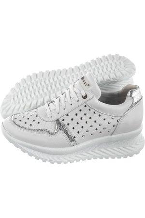 Nessi Sneakersy 20680 + Srebro (NE173-a)