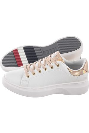 Ralph Lauren Sneakersy Miriam1 Clube-Whi-Gold JEWEL4162W9/Y2 (US14-a)