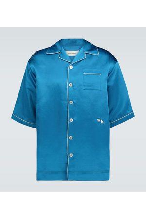 WALES BONNER Short-sleeved pajama shirt