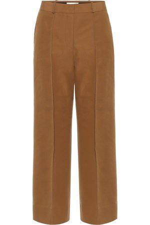 Victoria Victoria Beckham Cotton-blend twill culottes
