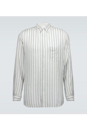 Maison Margiela Striped regular-fit shirt