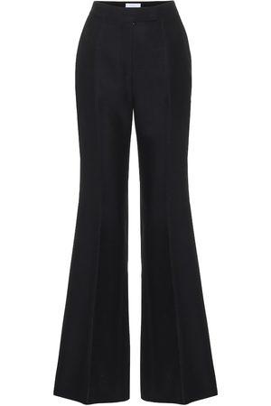 GABRIELA HEARST Kobieta Spodnie z szeroką nogawką - Leda high-rise wool-blend pants