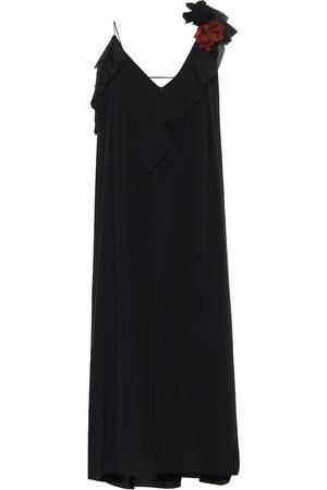 Victoria Beckham Silk crêpe de chine dress