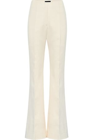 Joseph Tavi high-rise cotton-sateen pants