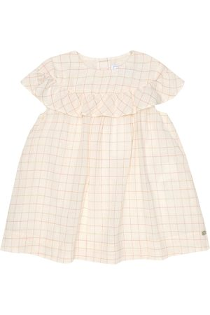 Tartine Et Chocolat Baby checked cotton-blend dress