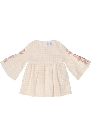 Tartine Et Chocolat Checked cotton top
