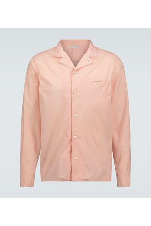 CARUSO Cotton long-sleeved shirt