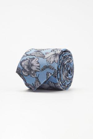 Recman Mężczyzna Krawaty - Krawat kwiaty 106