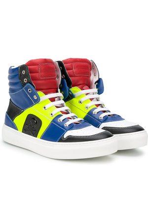 Philipp Plein Chłopiec Sneakersy - Blue