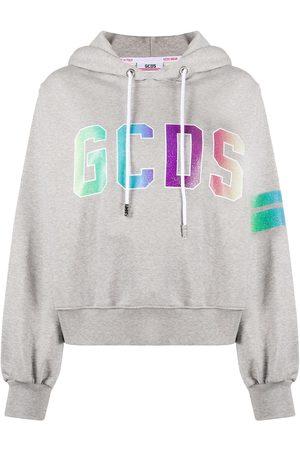 GCDS Kobieta Bluzy z kapturem - Grey