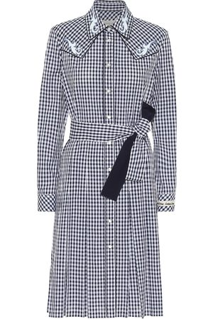Golden Goose Olivia checked cotton shirt dress
