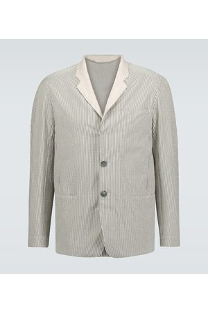 Sease Striped cotton blazer