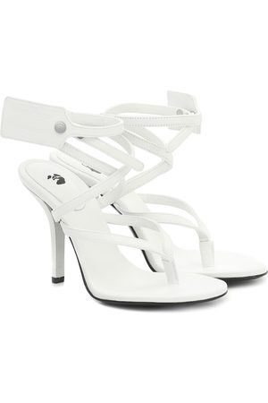 OFF-WHITE Leather sandals