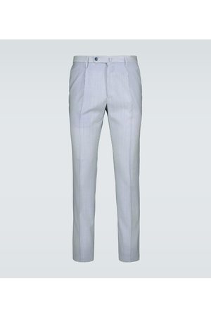 Incotex Merino wool slim-fit pants