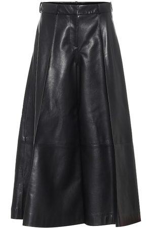 Khaite Selma high-rise leather pants