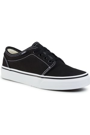Vans Tenisówki - 106 Vulcanized VN000VM96BT Black/True White