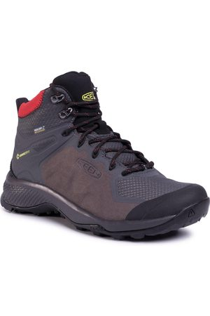 Keen Trekkingi - Explore Mid Wp 1021608 Magnet/Fiery Red