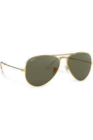Ray-Ban Okulary przeciwsłoneczne - Aviator 0RB3025 Gold/Green