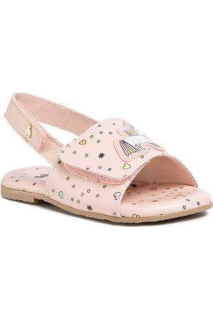 BIBI Sandały - Baby Brik Mini 1088069 Happy Place/Camellia