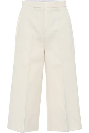 Joseph Toy cotton-sateen culottes