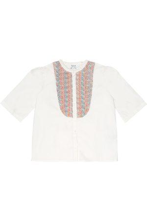 BONPOINT Nili cotton-poplin shirt