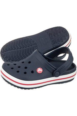 Crocs Klapki Crocband Clog K Navy/Red 204537-485 (CR125-a)
