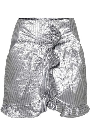 Isabel Marant Exclusive to Mytheresa – Mucius striped metallic miniskirt