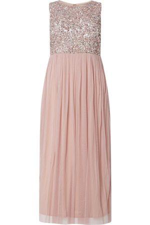 Lace & Beads Sukienka wieczorowa PLUS SIZE z cekinami model 'Picasso'