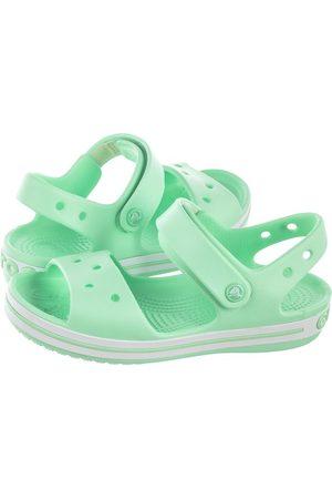 Crocs Sandałki Crocband Sandal Kids Neo Mint 12856-3TI (CR39-p)