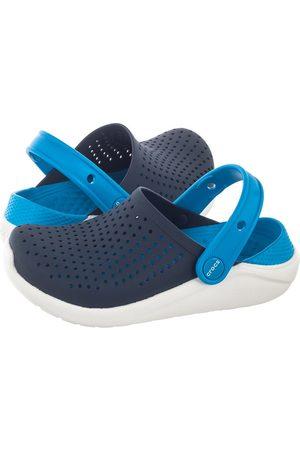 Crocs Chodaki - Klapki Literide Clog K Navy/White 205964-462 (CR191-a)