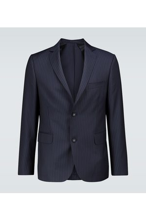 OFFICINE GENERALE Pinstriped wool blazer