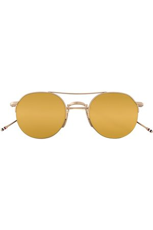 Thom Browne Okulary przeciwsłoneczne - Metallic