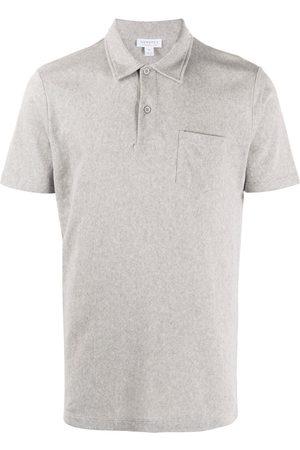 Sunspel Mężczyzna Koszulki polo - Grey