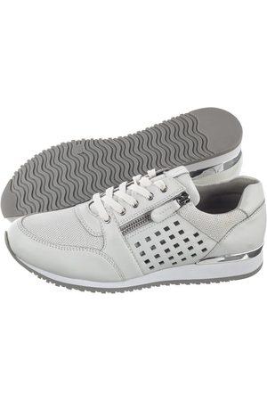 Caprice Sneakersy Białe 9-23503-24 197 White Comb (CP219-a)