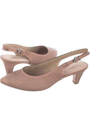 Caprice Sandały Różowe 9-29601-24 583 Rose Perlato (CP218-a)