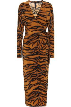 Norma Kamali Exclusive to Mytheresa – Tiger-print dress