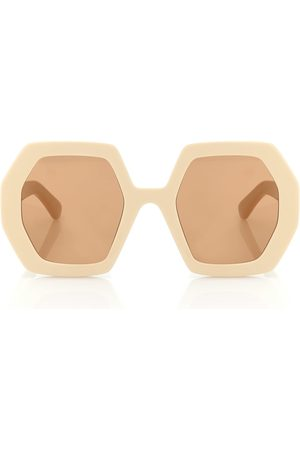 Gucci Hexagonal sunglasses