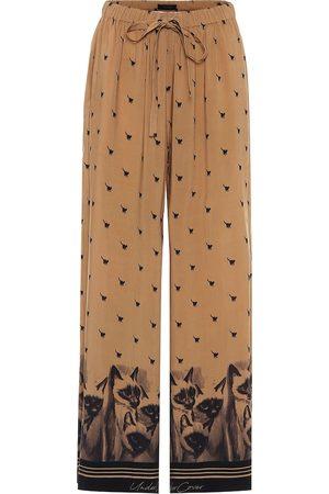 UNDERCOVER Printed drawstring pants