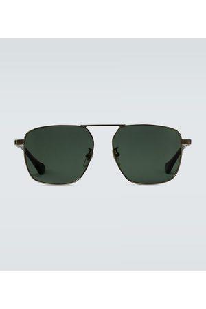 Gucci Okulary przeciwsłoneczne - Squared aviator-inspired sunglasses