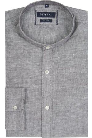 MCNEAL Mężczyzna Na co dzień - Koszula casualowa o kroju slim fit z dodatkiem lnu model 'Richeard'