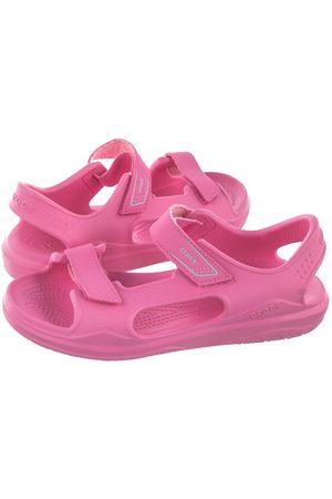 Crocs Sandały Swiftwater Expedition Sandal K Pink Lemonade 206267-6M3 (CR205-c)