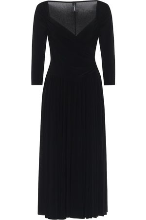 Norma Kamali Super Flair midi dress